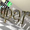 Blender_3D_Modellierung_Schriftzug