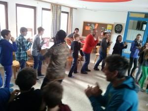 Gemeinsames Tanzen