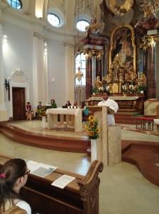 Eröffnungsgottesdienst in der Kirche von St. Rupert