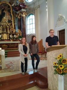 Veronika Huber, Marlene Schmalz, Lukas Födermair- Laagard