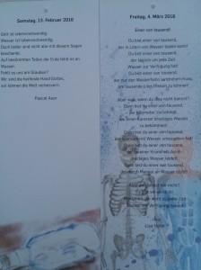 Texte von Pascal Auer und Lisa Hofer