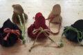 Textiles Werken: Lederbeutel