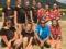 Volleyballturnier und Fußballspiel